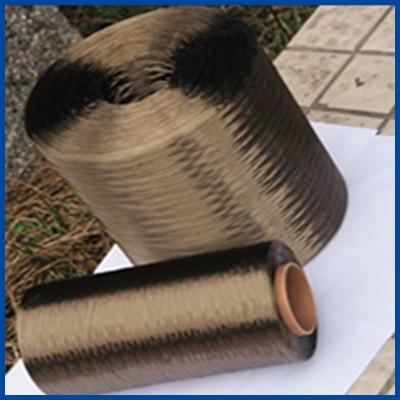 玄武岩纤维缠绕纱图片