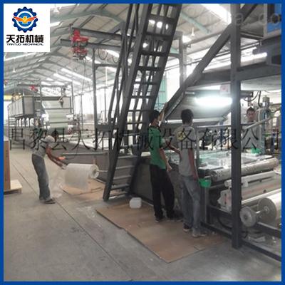 FRP 胶衣瓦生产线图片
