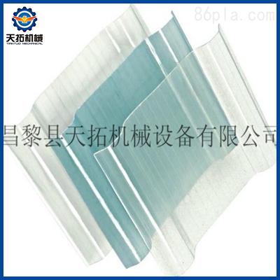 玻璃钢采光板生产线图片